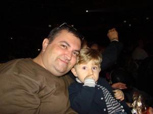 С племянником Даниилом