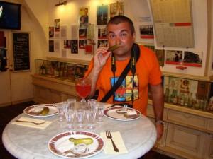 В Музее истории водки