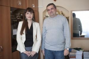 Юлия Тюрина и Сергей Хамзин