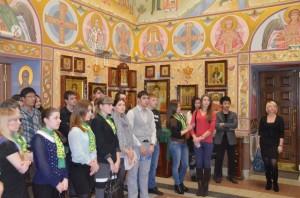 В Храме семинарии