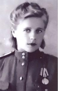 Зоя Ивановна Пшеничникова 1943