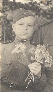 Иван Федорович Евсеев 1945