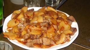 Баклажаны с картофелем