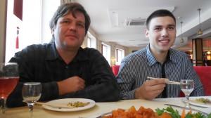 Данил Горчаков и Роман Окул