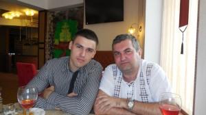 Роман Окул и Сергей Хамзин